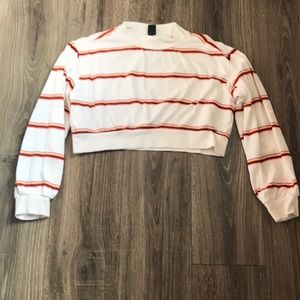 Wild Fable Light Weight Cropped Sweatshirt